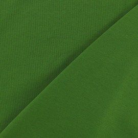 Oeko-Tex Jersey Fabric - Dark Green x 10cm