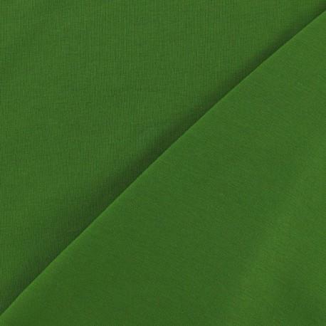 Tissu Jersey uni vert x 10cm