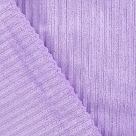 Minkee ribbed velvet fabric - parma x 10cm