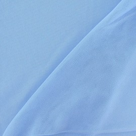 Flexible Thin Stitch Tulle - Sky x 10cm