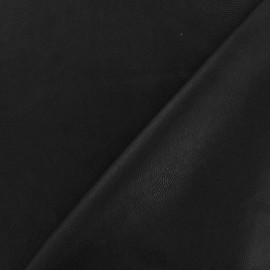 Simili cuir nacré noir x 10cm