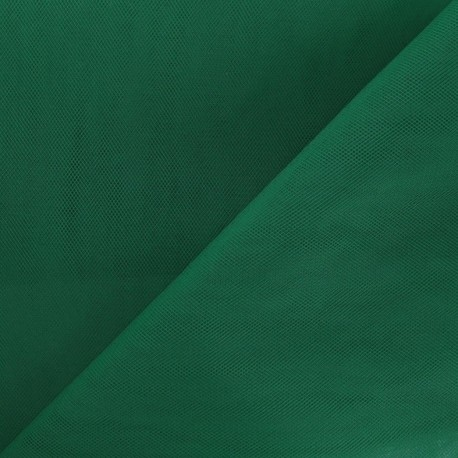 Big Width Tulle - Forest Green x 1m