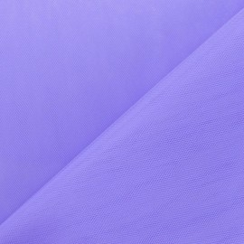 Tulle grande largeur lilas x1m