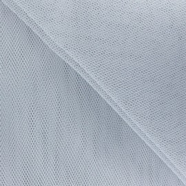 Big Width Tulle - Grey x 1m
