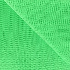 Tulle grande largeur vert x1m