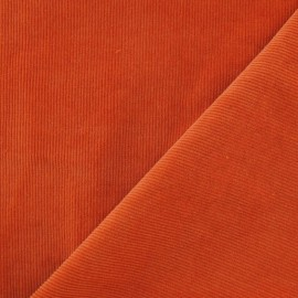 Milleraies velvet fabric - orange 300gr/ml x10cm