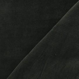 Tissu velours milleraies vert bouteille 300gr/ml x 10cm