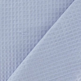 Double-sided Honeycomb towel fabric - mauve x 10cm
