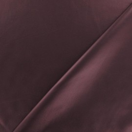 Tissu enduit souple nacré pourpre x 10cm