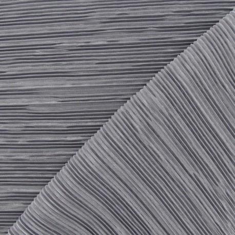 tissu pliss gris perle x 10cm ma petite mercerie. Black Bedroom Furniture Sets. Home Design Ideas