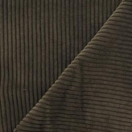 Tissu velours à grosses côtes cigare x 10cm