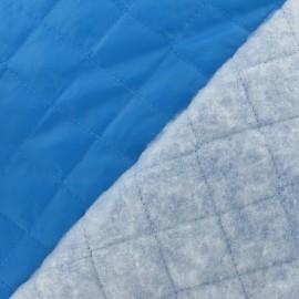 Doublure matelassée bleu turquoise x 10cm