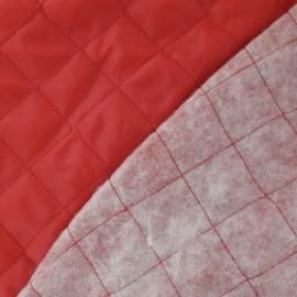 Doublure matelassée rouge x 10cm