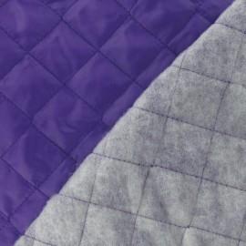Doublure matelassée violet x 10cm