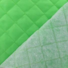 Doublure matelassée vert fluo x 10cm