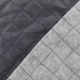 Doublure matelassée grise x 10cm