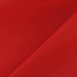 Tissu toile Velabag rouge x 10cm