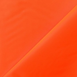 Canvas Fabric - Velabag fluo orange x 10cm