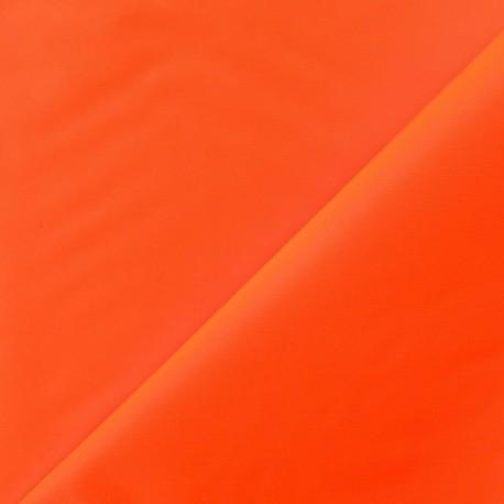 Toile Velabag orange fluo x 10cm
