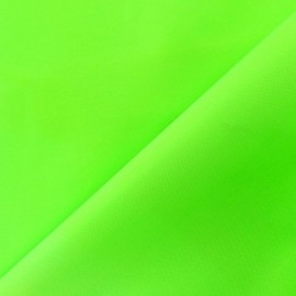 Canvas Fabric - Velabag fluo green x 10cm
