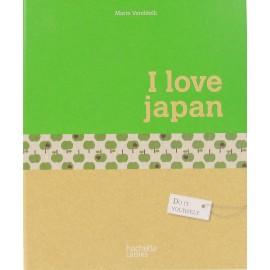 "Livre ""I love Japan"""
