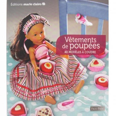 """Book """"Vêtements de poupées"""""""