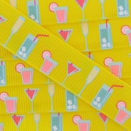 Grosgrain Ribbon, Party - Yellow