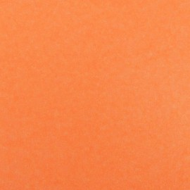 Feuille thermocollante paillettes orange fluo