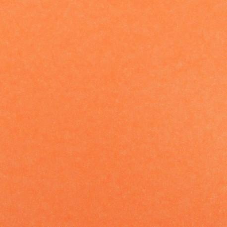 Spangled Fusible sheet - fluorescent orange