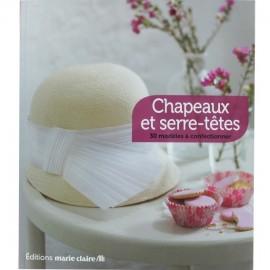 """Livre """"Chapeaux et serre-têtes"""""""