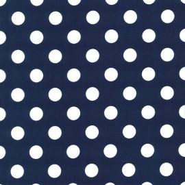 Tissu Quarter Dot marine Midn x 10cm