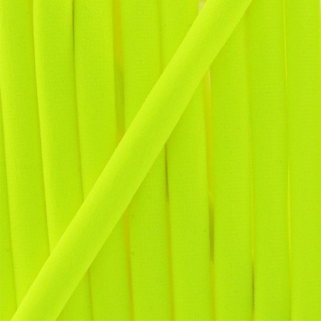 Swimsuit cord 5 mm - fluorescent yellow