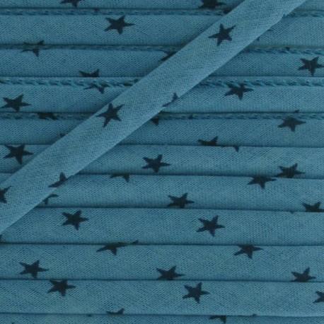 Cord, star, intense B - celestial blue