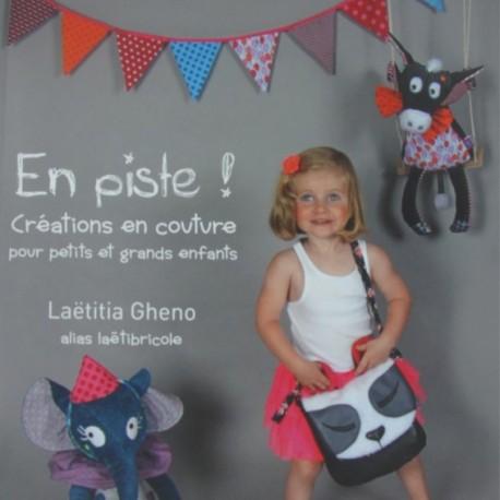 """Livre """"En piste"""" Laetitia Ghéno"""