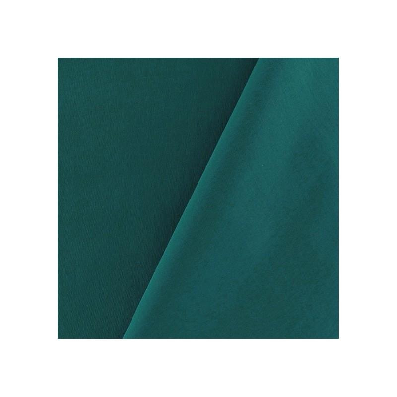 tissu d perlant souple bleu paon. Black Bedroom Furniture Sets. Home Design Ideas