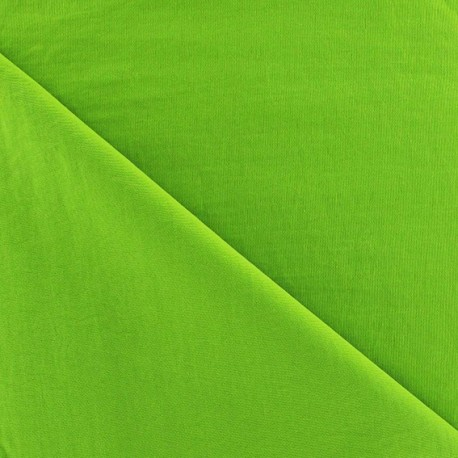 Smooth Water-repellent Softshell fabric ? Anise green x 10cm
