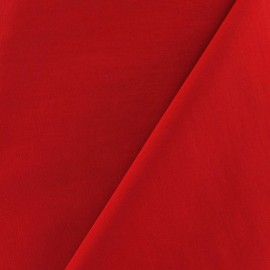 Smooth Water-repellent Softshell fabric ? Red x 10cm