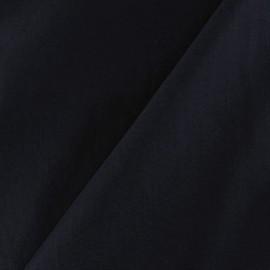 Tissu déperlant souple marine x 10cm