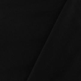 Tissu déperlant souple noir x 10cm