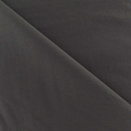 Smooth Water-repellent Softshell fabric – Grey x 10cm