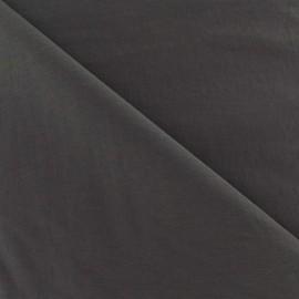 Tissu déperlant souple gris x 10cm