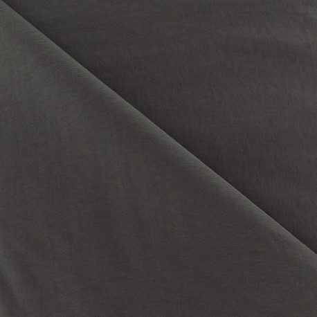 Smooth Water-repellent Softshell fabric ? Grey x 10cm