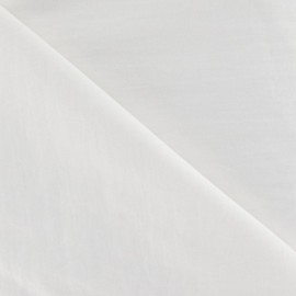 Smooth Water-repellent Softshell fabric ? White x 10cm