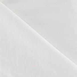 Tissu déperlant souple blanc x 10cm