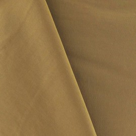 Smooth Water-repellent Softshell fabric ? Light Brown x 10cm