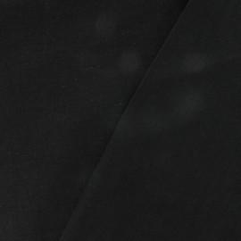 Tissu Lin noir x 10cm