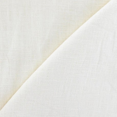 Linen fabric - vanilla  x 10cm