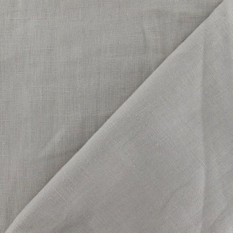 Tissu Lin beige  x 10cm