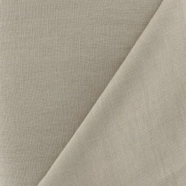 Linen Fabric - Sand x 10cm