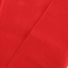 Tissu Lin rouge x 10cm